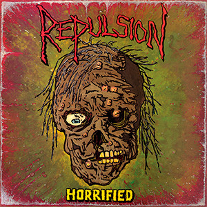"Repulsion - Horrified 4x4"" Color Patch"