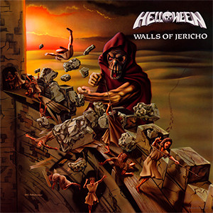 "Helloween - Walls of Jericho 4x4"" Color Patch"