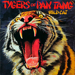 "Tygers of Pan Tang - Wild Cat 4x4"" Color Patch"