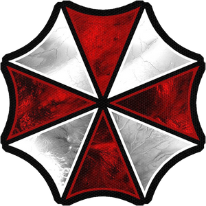 "Umbrella Corporation Logo 4x4"" Color Patch"