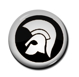 "Trojan Records Logo 1"" Pin"