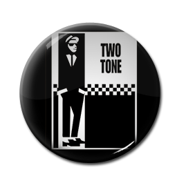 "Two Tone Logo 1"" Pin"