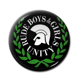 "Trojan - Rude Boys & Girls Unity 1"" Pin"