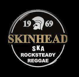 """Skinhead 1"""" Pin"""