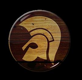 """Trojan Helmet 1"""" Pin"""