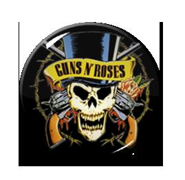 "Guns n Roses - Skull 1"" Pin"
