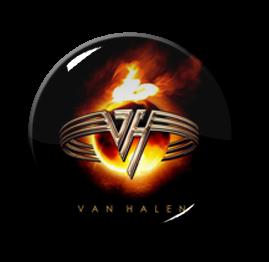 """Van Halen 1"""" Pin"""