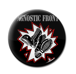 "Agnostic Front 1"" Pin"