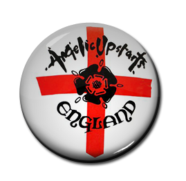 "Angelic Upstarts - England 1"" Pin"