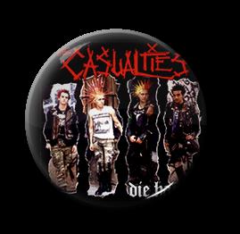 """Casualties - Die Hard 1"""" Pin"""