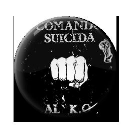 """Comando Suicida - Al K.O. 1"""" Pin"""