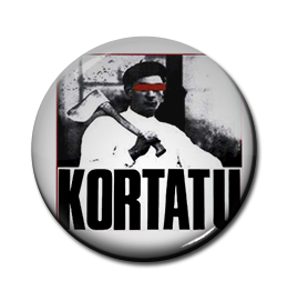 "Kortatu - LP Cover 1"" Pin"