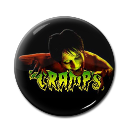 "The Cramps - Lux Interior 1"" Pin"