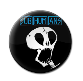 "Subhumans - Logo 1"" Pin"