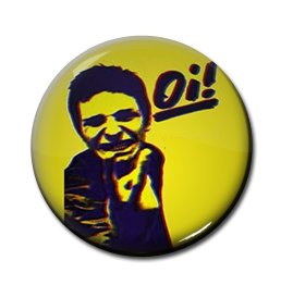 "Cockney Rejects - Oi! The Album 1"" Pin"