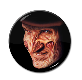 "Freddy Krueger 1"" Pin"