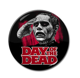"Day of the Dead - Zombie 1"" Pin"