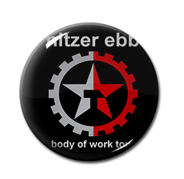 "Nitzer Ebb - Body of Work Tour 1"" Pin"