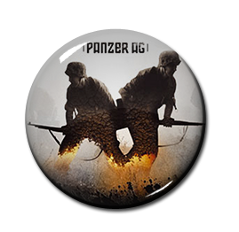 "Panzer AG - Your World Is Burning 1"" Pin"