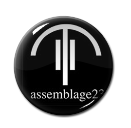 "Assemblage 23 - The Vinyl Sessions 1"" Pin"