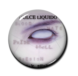 "Dulce Liquido - Shock Therapy 1"" Pin"