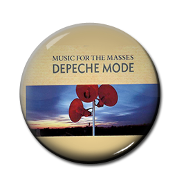 "Depeche Mode - Music for the Masses 1"" Pin"