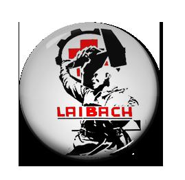 "Laibach - Hammer 1"" Pin"