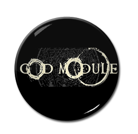 "GOD Module - Logo 1"" Pin"