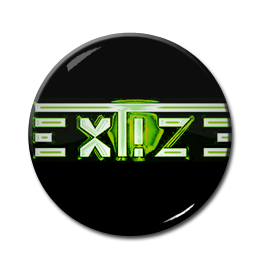 "Extize - Green Logo 1"" Pin"