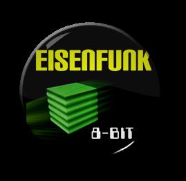 """Eisenfunk - 8-Bit 1"""" Pin"""