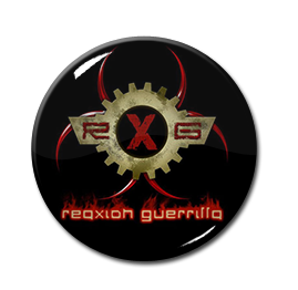 "Reaxxion Guerrilla - Logo 1"" Pin"