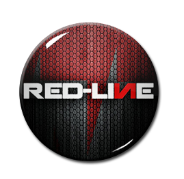 "Red-Line - Logo 1"" Pin"