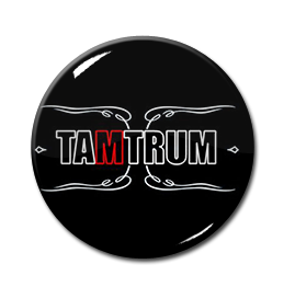 "Tamtrum - Logo 1"" Pin"