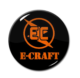 "E-Craft - Logo 1"" Pin"