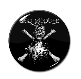 "God Module - Skull & Crossbones 1"" Pin"