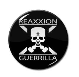 "Reaxxion Guerrilla - Skull 1"" Pin"
