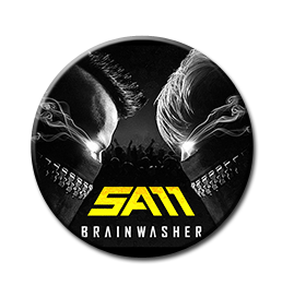 "Sam - Brainwasher 1"" Pin"