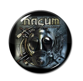 "Nasum - Grind Finale 1"" Pin"