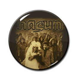 "Nasum - Inhale-Exhale 1"" Pin"