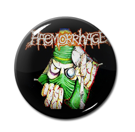 "Haemorrhage - Doctor 1"" Pin"
