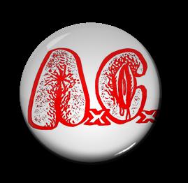 """Anal Cunt - Logo 1"""" Pin"""