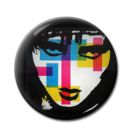 "Siouxsie and the Banshees - Once Upon a Time 1"" Pin"