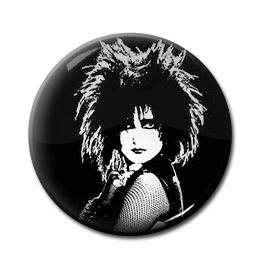 "Siouxsie and the Banshees - Siouxsie Sioux 1"" Pin"
