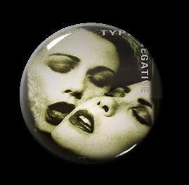"Type O Negative - Bloody Kisses 1"" Pin"