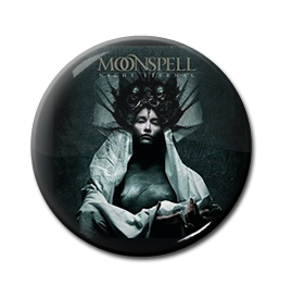 "Moonspell - Night Eternal 1"" Pin"