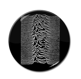 "Joy Division - Unknown Pleasure 1"" Pin"