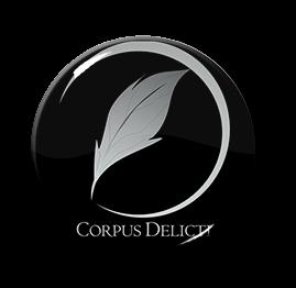 "Corpus Delicti - Logo 1"" Pin"