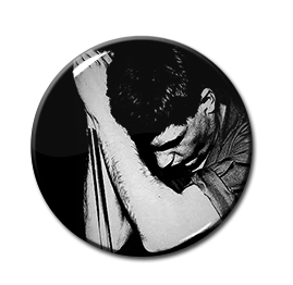 "Joy Division - Ian Curtis 1"" Pin"