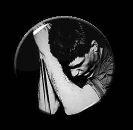 "Joy Division - Ian Curtis 1"" Pin"
