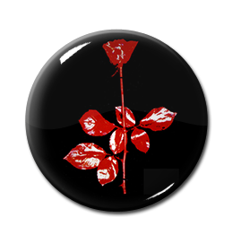 "Depeche Mode - Violator 1"" Pin"